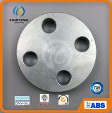 Bride borgne galvanisée par A105 d'acier du carbone d'ASME B16.5 avec TUV (KT0583)