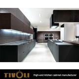 アメリカのホワイトオークのベニヤの食器棚および台所家具(AP132)