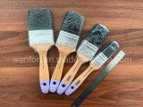 Черная щетка краски щетинки с деревянным Hamdle