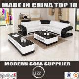 Новая софа кожи отдыха Modural конструкции 2017 для живущий мебели комнаты (LZ 8001-A)