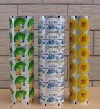 Пластичная прокатывая пленка мешка с большой печатью для упаковки еды