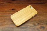 Pleine couverture arrière protectrice en bois réelle de 360 degrés pour l'iPhone 6/6s/7