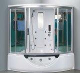 sauna del vapor de 1560m m con el Jacuzzi y la ducha para 2 personas (AT-G8201)