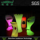 Mobilia dell'interno chiara del rattan di illuminazione della presidenza della barra di hotel del LED