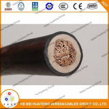 2kv Canneded Copper Conductor Epr Insulation CPE Sheath Cable 1/0 2/0 3/0 4/0 AWG Dlo Cable