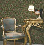 De hete Bloemen van het Behang van de Luxe van de Ontwerpen van de Decoratie van het Huis van de Verkoop 1.06m*15.6 Italiaanse