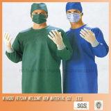Spunlace nichtgewebtes Gewebe für chirurgisches Kleid