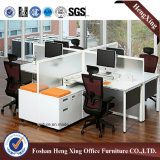 Partition moderne de bureau de 4 portées de qualité