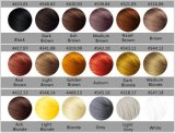 2-ые Волокно здания волос кератина метки частного назначения поколения с 18 цветами