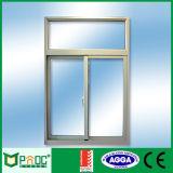 Ventana de desplazamiento de aluminio del precio barato con la pantalla Pnoc0124slw del mosquito