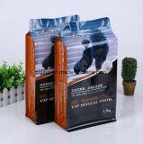 Saco de pé do empacotamento de alimento do animal de estimação da folha de alumínio para o empacotamento de alimento do animal de estimação