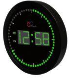 Grande orologio di tempo di circonduzione della parete/scrittorio del LED Digital per la decorazione domestica