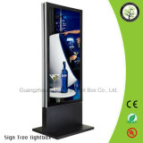 Custom Lightuminated Stand Advertising Double Side LED Light Box