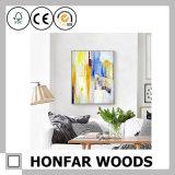 Cadre de tableau en bois de galerie d'art de mur de peinture