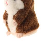 OEM 귀여운 살아있는 것 같은 견면 벨벳 동물에 의하여 채워지는 장난감 햄스터