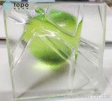 Glace décorative riche d'art de configuration/glace chaude de procédé de fonte (triphosphate d'adénosine)