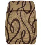 차 양탄자 쟁반 발 패드 리본 패턴