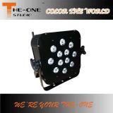 Éclairage LED sans fil de l'alimentation par batterie d'intérieur DMX