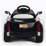 Elektrisch rit-op de auto-Zwarte van het Stuk speelgoed van Kinderen