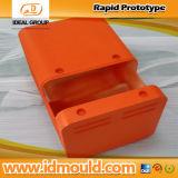 Померанцовый анодированный быстро CNC машины CNC прототипа сверля CNC филируя электронный Rapid Prototoype продукта