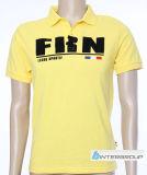 T-shirt de polo du coton des hommes (BG-M115)