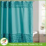 Poliéster de qualidade Personalizado cortina de chuveiro alta bonito Ruffle