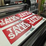 Großhandelszoll gedrucktes haltbares Corflute Vorstand-Drucken für das Bekanntmachen