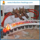 Het Verwarmen van de inductie de Machine van het Smeedstuk voor Staaf + Automatische het Voeden Apparatuur