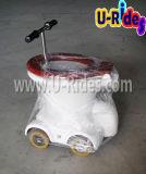 ゲームの膨脹可能な洗面所車を、洗面所の乗車競争させて、洗面所は車に乗る