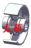 일반적인 기계장치를 위한 제동륜을%s 가진 Wgz 기어 연결