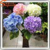 Цветок Hydrangea искусственного шелка для венчания или украшения трактира