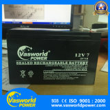 12V 7ah再充電可能なAGM UPSの深いサイクルの太陽密封された鉛酸蓄電池