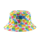 Custom Cap Floral Polyester Fashion Outdoor Fishing Cap Bucket Hat