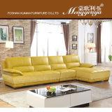 本革L形の居間のソファー(898#)