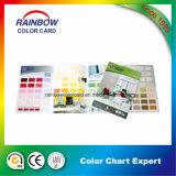 Carte promotionnelle de couleur de peinture de mur de matériau de construction pour la publicité