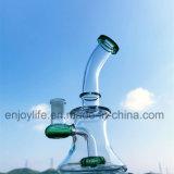8 인치는 작은 유리제 기본적인 비커 여과자 석유 굴착 장치 유리제 연기가 나는 수관을 도매한다