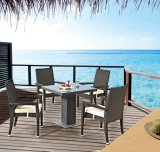 Garden Patio Wicker / Rattan Dining Set - Outdoor Furniture (LN-1011)