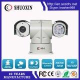 Macchina fotografica infrarossa intelligente del CCTV di sorveglianza dell'automobile di visione notturna dello zoom 100m del SONY 18X con il pulitore