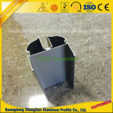 Profil en aluminium de nettoyage anodisé pour la décoration de pièce propre