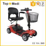 de Gehandicapte Autoped met 4 wielen van de Mobiliteit van de Beweging van de Macht Vouwbare Elektrische Gemakkelijke voor Volwassenen