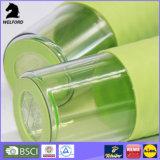 Double tasse en plastique de course de mur
