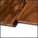 金アカシアの固体堅木張りの床か木床