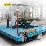 Motorisiertes Übergangsschlußteil-Fahrzeug mit hydraulischer Aufzug-Tisch