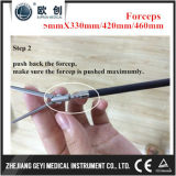 Brides 2017 isolées rotatives de forceps du Maryland d'instruments de Geyi Laparoscopic
