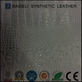 Crocodile Pattern PVC Garment Leather