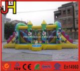 Clown-aufblasbarer kombinierter Clown-aufblasbarer springender Prahler