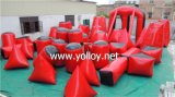 7-10 Man 44 PCS Best Underflatable Air Paintball Bunkers