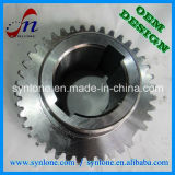 CNCの機械化プロセスの延性がある鉄のワームギヤ