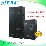Inversor de la frecuencia de la CA del Enc 132kw VFD de la fabricación, mecanismo impulsor de velocidad variable de En500-4t1320g VSD 132kw