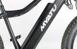26 인치를 가진 전기 뚱뚱한 자전거